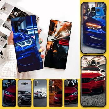 HPCHCJHM Blue Red Car for Bmw DIY Luxury Phone Case For Samsung Note 7 8 9 10 pro Galaxy J7 J8 J6 Plus 2018 Prime image