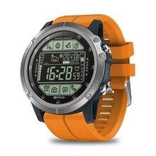 Oryginalny inteligentny zegarek człowiek Zeblaze VIBE 3S na zewnątrz Smartwatch 33 miesiące długi czas czuwania pasek z żelu krzemionkowego 50M wodoodporny fitness track