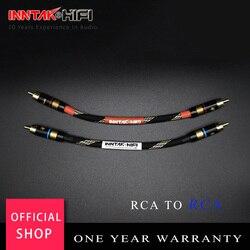 2 шт./пара 4N-OFC профессиональный аудио Класс RCA кабель мужчинами RCA к RCA аудио кабель для усилителя DAC ТВ/0,2 M- 5M NO1013
