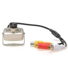 ИК Проводной CCTV мини-камера безопасности цветной ночного видения инфракрасная Запись Видео проводная камера CCTV запись Проводная камера мини