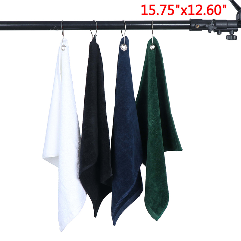 Quick Dry Washcloth Swimming Towels Sports Hiking Golf Towel Towel With Hook Outdoor Running Swimming Accessories 40*32cm