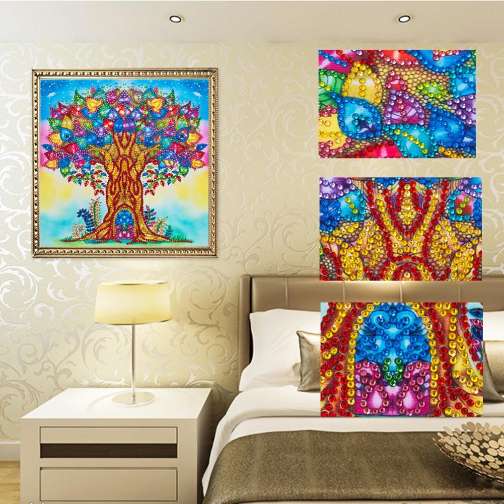 5D DIY Full Drill Diamond Painting Embroidery Mosaic Craft Kits Needlework Decor