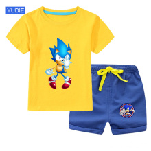 Toddler Boys Fashion Suit Clothing Sets 2020 New Summer Baby Casual Cotton Childrens