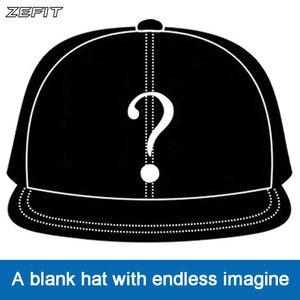 Image 1 - Zefit benutzerdefinierte kappe snap strap auf back headwear flache krempe custom design 3D logo kleine auftrag freies verschiffen kunden baseball hut