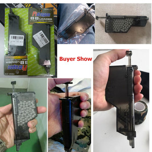 Image 5 - Airsoft BB Speed Loader Quick Release 155 Rounds Paintball Loader Tactical  War Game BB Balls Loader Shooting Accessories