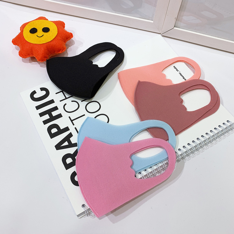 YELITE Chlid Sponge Mouth Mask Breathable Unisex Washable Reusable Anti Pollution Face Shield Super Soft Fashion Design Sale
