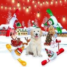 Рождественская шляпа для животных декоративные вечерние кепки для домашних животных для кошек/маленьких собак регулируемые милые Косплей Аксессуары для домашних животных
