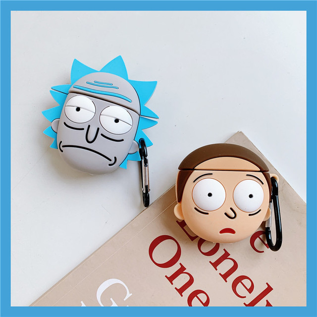 RICK AND MORTY AIRPODS CASE