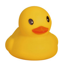 Baby Bath Toys Funny Duck Toys Float And Squeak Ducky Baby Bath Toy Children'S Birthday Party Favors Baby Shower Time Toys #20(China)