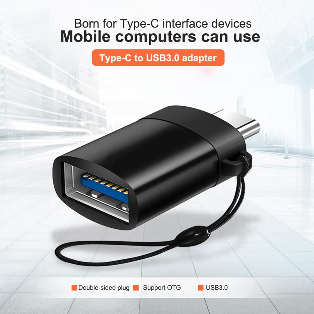 Usb Card Readers Mini Portable High Speed USB 3.0 Type-C Male To Female OTG Adapter Data Transfer Converter For Samsung S8 S9
