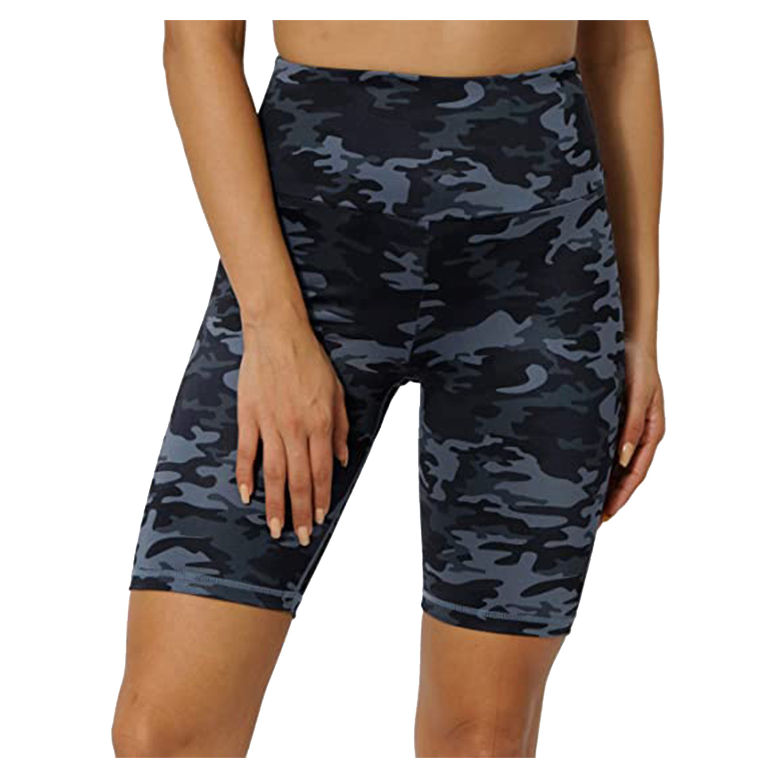 Femmes Leggings Camouflage impression jambières d'exercices poches cachées yo-ga pantalons courts femmes athlétique Leggins jambes Ropa De Mujer
