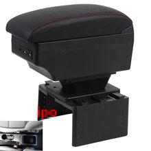 Caixa universal para apoio de braço para carro fiat tipo, acessório para modificação