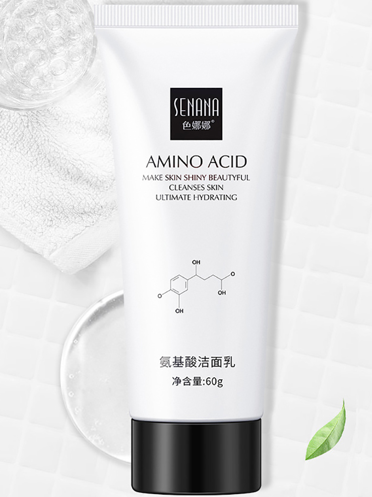 Blackhead-Remover Skin-Care Acid-Face-Cleanser Shrink-Pores Acne Amino SENANA Nicotinamide