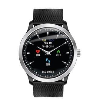 Br4 ЭКГ Ppg умные часы мужские с электрокардиограммой дисплей пульсометр кровяное давление смарт-Браслет фитнес-трекер Новинка для Makibe