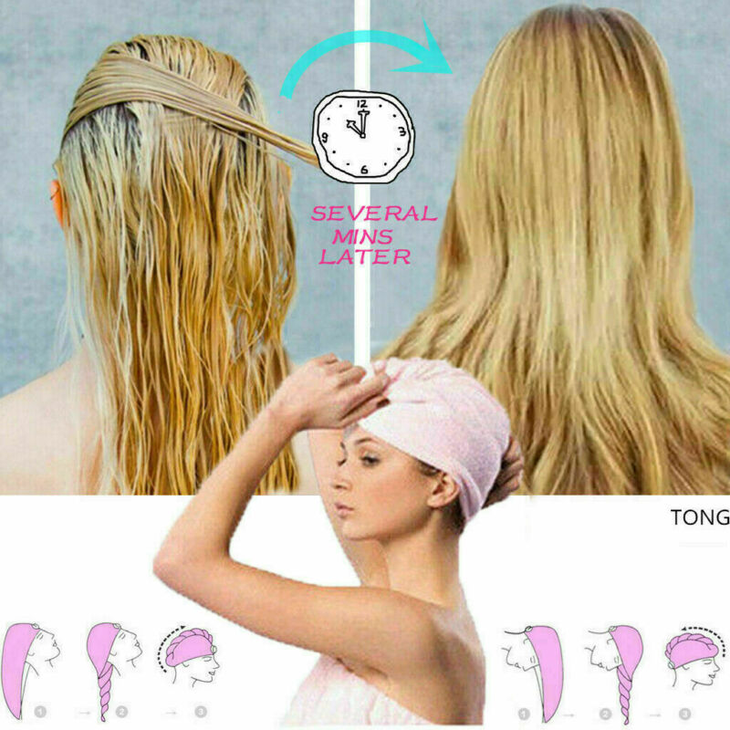 Free shipping Microfiber Rapid Drying Hair Towel Quick Dry Hair Hat Wrapped Towel Bathing Cap