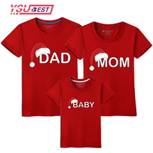 Matching Outfits Look Family Christmas-Hat T-Shirt dad Son Mom Daughter Me And Print