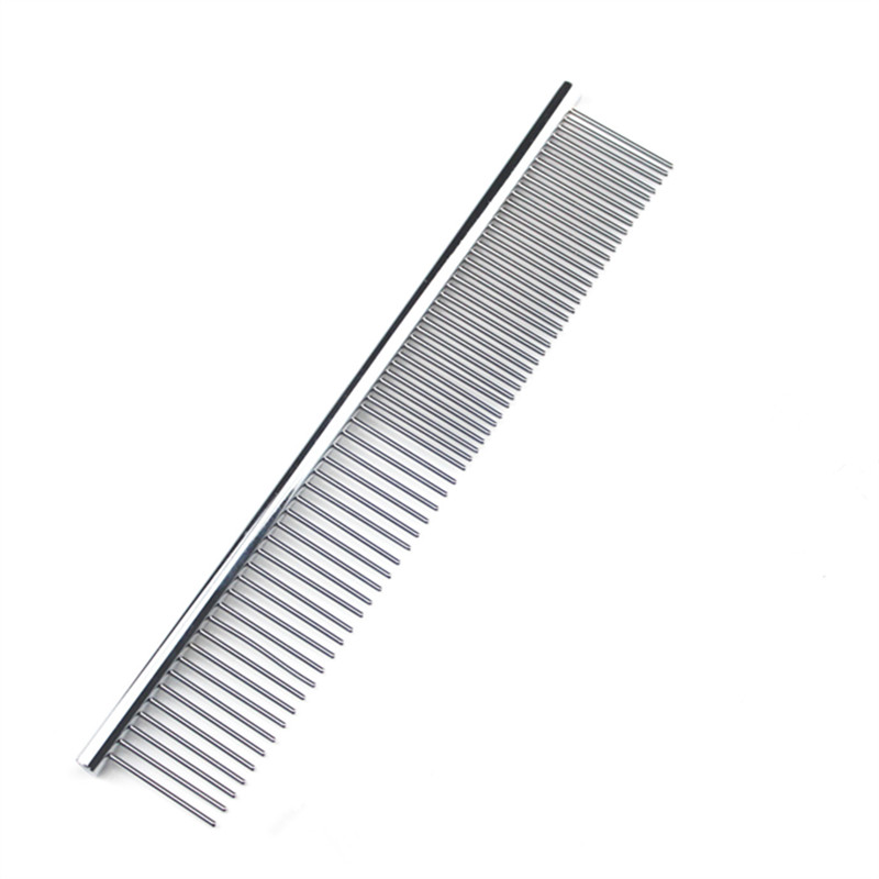 Metal Comb For Dogs Stainless Steel Needle Pet Dog Cat Pin Comb Hair Brush Hairbrush Flea Comb Dogs Pet Acessorios Pet Grooming