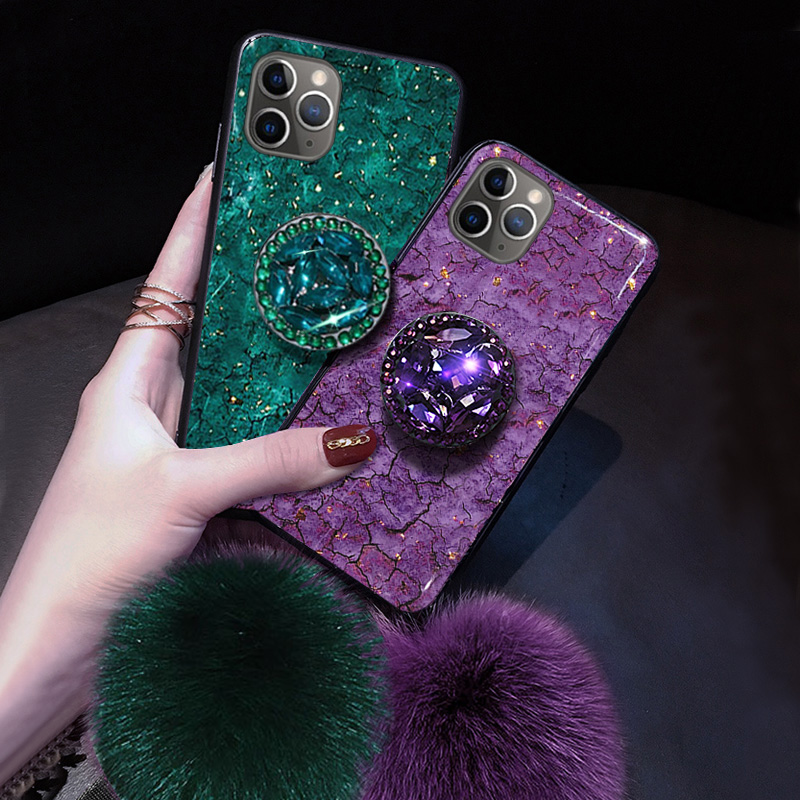 Marble Glitter Phone Cases