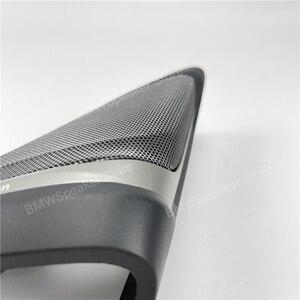Image 4 - Auto front Tür Lautsprecher Für BMW G30 5 Serie Harman/kardon Hochtöner Abdeckung Audio Trompete Höhen Hohe Horn Rahmen trim Besser Sound