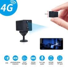 4g sim карта мини камера wifi умная беспроводная видеокамера