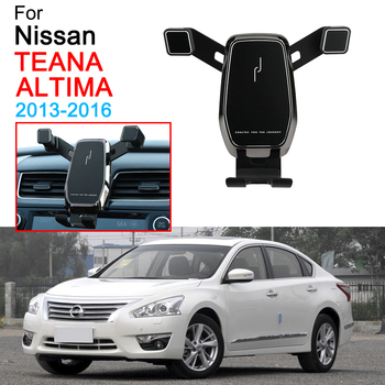 Car Mobile Phone Stand Bracket Air Vent Mount Call Phone Holder for Nissan Teana Altima Accessories 2013 2014 2015 2016 image