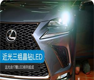 Image 5 - 2017y автомобильный bupmer передняя фара для Lexus передсветильник X200 NX200T NX300T автомобильные аксессуары все в светодиодный ном тумане для Lexus передняя фара
