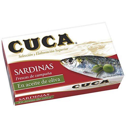 Sardines à L'huile D'olive Tapas Qualité Superieure