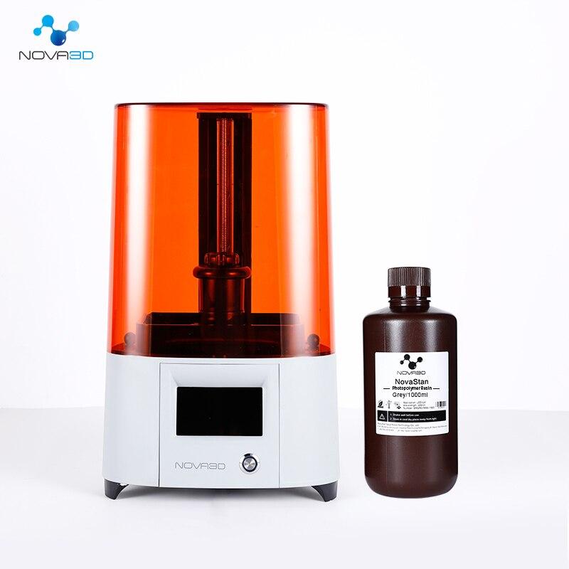 Nova3D LCD ELFIN 3D Printer Light Curing 3d принтер Free Levelling   Resin Desktop-level LCD 3D Printer Creality
