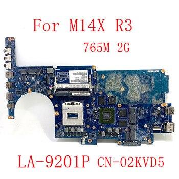 Para DELL Alienware M14X R3 placa base de computadora portátil DDR3L GTX765...