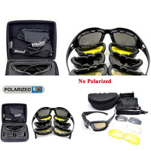 Tactical Men's Polarized Glasses Daisy Military Hunting Gogg