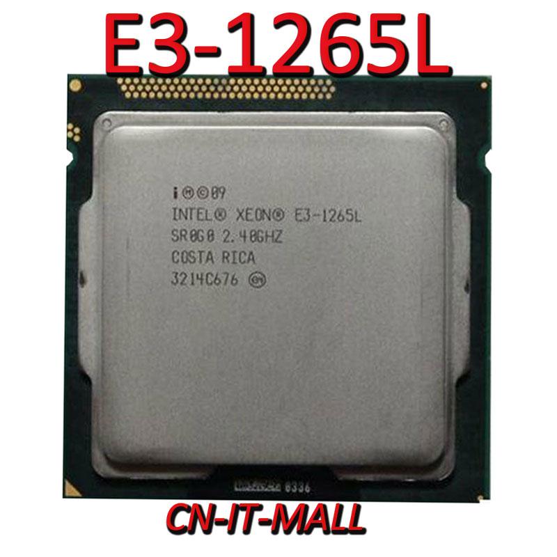 Intel Xeon E3-1265L CPU 2.4GHz 8M 4 Core 8 Threads LGA1155 Processor