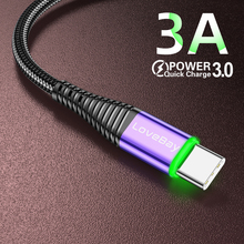 Lovebay LED 3A USB Type C Cable Quick Ch