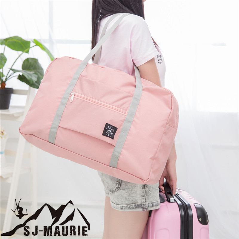 Buggy Bag Travelling Gym Bags Portable Female Folding Storage Sport Bag Large Capacity Women Fitness Bag Male Tie Case