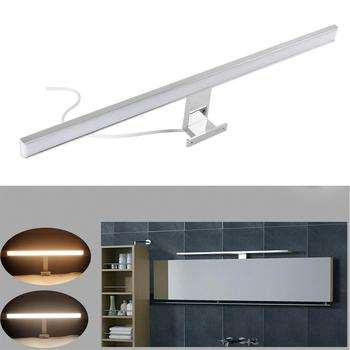 Indoor Led Wall Light Mirror Wall Lamp White 80cm Waterproof Aluminum Lighting Bathroom Restroom Mirror Makeup light lediary modern 17w 80cm 85led indoor led wall light acrylic mirror lighting decorative lamps with ce rohs with waterproof driver