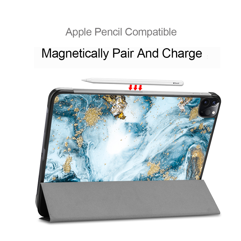 MTT 2020 Tablet Case For iPad Pro 11 2nd Generation PU Leather Flip Stand Smart funda