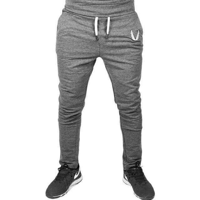 Four Seasons Men's Sports Pants  Gym Fitness Sports Jogging Sports Pants / Men's Casual Cotton Pencil Pants 3