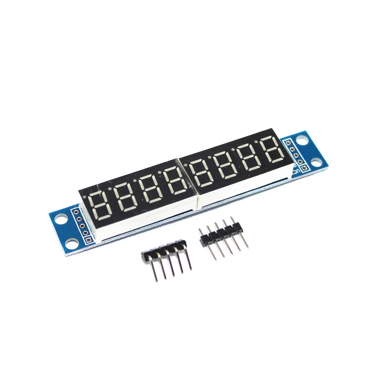 MAX7219 LED Dot Matrix Display Module 8 Digital Tube Display Control Board For Arduino Microcontroller Serial Driver 7 Segment
