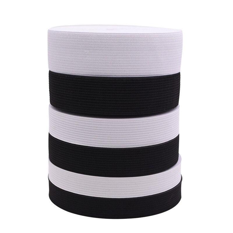 1 metros de cinta elástica en anchos de 4 20mm, 25mm, 30mm, o 50mm