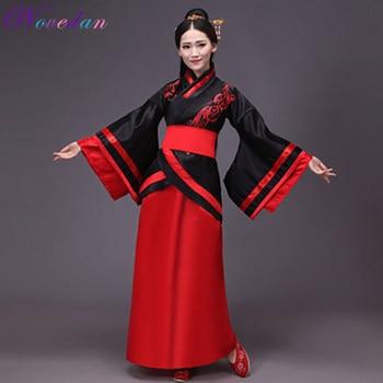 Vestido de Hanfu para mujer, traje tradicional de baile de escenario, traje chino, Hanfu, Cheongsam