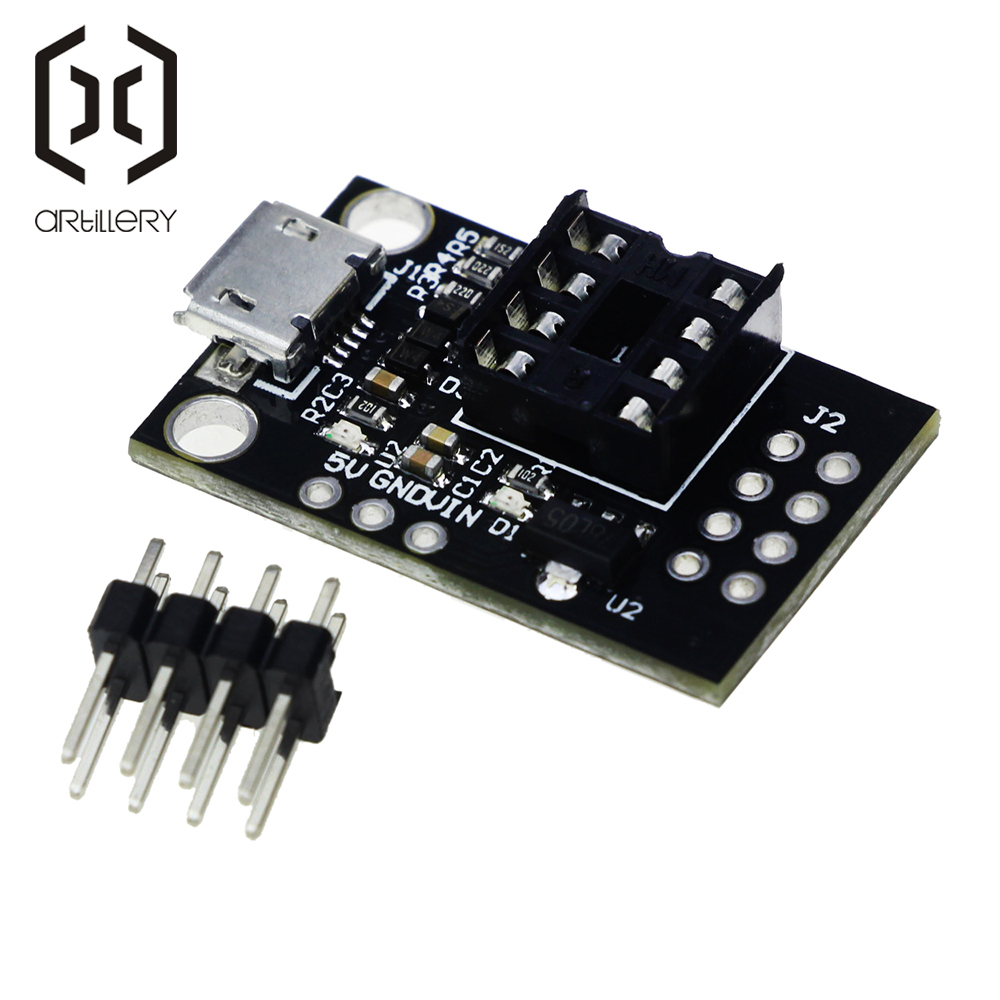 ATtiny13A/ATtiny25 /ATtiny45/ATtiny85 Pluggable Development Programming Bare Board