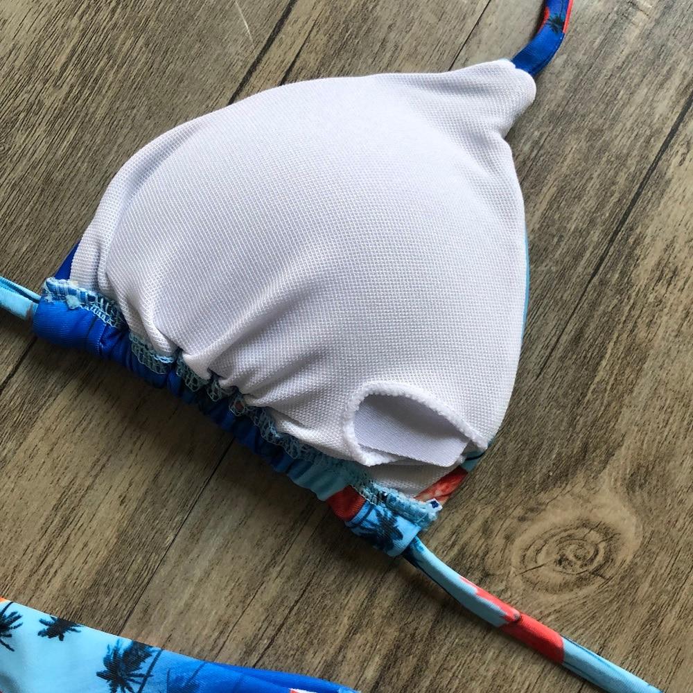 Brazilian Push Up Bandage Bikini Swimsuit 29