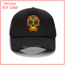 New mexican sugar skull 2020 Embroidery Baseball Hat Women C