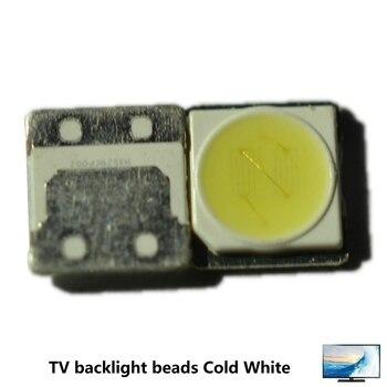 100PCS FOR LCD TV repair LG Replace SEOUL UNI led TV backlight strip lights with light-emitting diode 3535 SMD LED beads 6V-6.8V