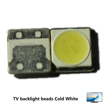 FOR LCD TV repair LG Replace SEOUL UNI led TV backlight strip lights with light-emitting diode 3535 SMD LED beads 6V-6.8V image