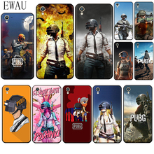 EWAU PUBG Mobile Silicone phone case for OPPO A1K A5 A9 Reno