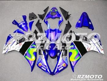 New ABS Mold motorcycle Fairings Fit For Yamaha YZF-1000-R1 2009 2010 2011 09 10 11 Fairing bodywork set custom blue black