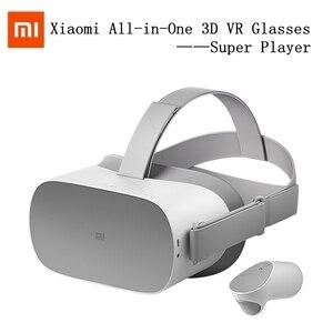 3d-очки Xiaomi Super Player VR, универсальные беспроводные очки для шлема VR, игровая ручка 360, 4K, HD, 3G + 32, панорамный объемный телевизор