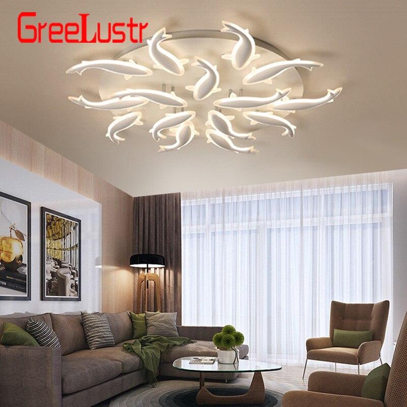 Osobowość twórcza lampa do salonu nowoczesny minimalistyczny ciepły dom LED bionic roczne lampy sufitowe lampy artystyczne