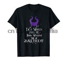 Em um mundo cheio de bruxas básicas ser uma camisa maléfica-t