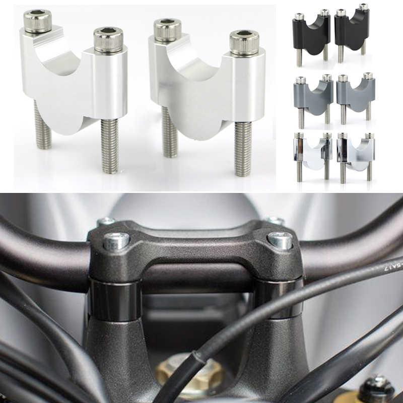 Billet Offset HandleBar Risers Bar Mount Clamp For Honda CB300F 2015-2019 2018